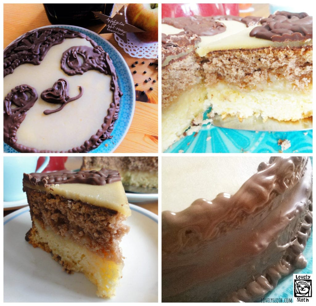 Faultier Kuchen Apfel Marzipankuchen Rezept Lovelysloth Com