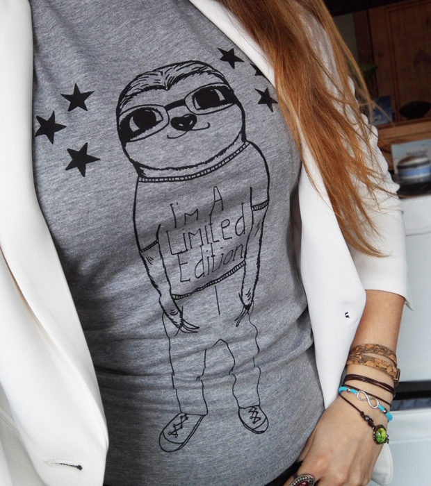 Im-a-limited-edition-shirt-grau-faultier-lovelysloth