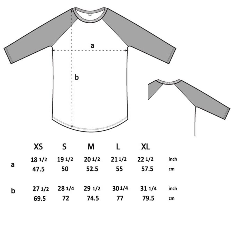 baseballshirt-groessentabelle