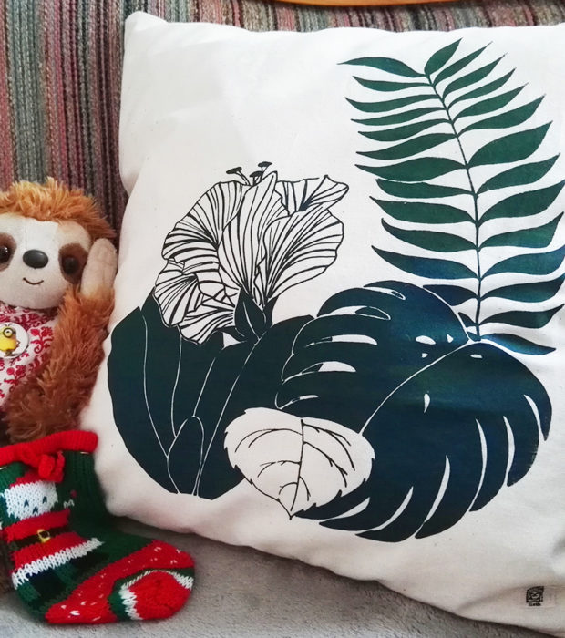 Jungle pillow Dschungel kissen 2