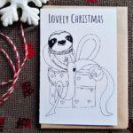 Lovely Christmas Karte