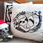 Sloth pillow faultier kissen slothlove