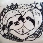 Sloth pillow faultier kissen slothlove nah