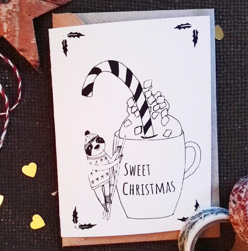 Sweet Christmas Weihnachtskarte 2