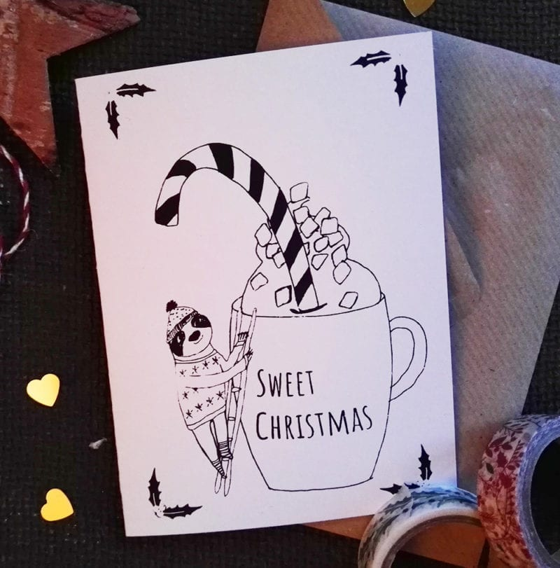 Sweet Christmas Weihnachtskarte