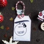 lazy christmas tag