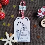 sweet christmas tag