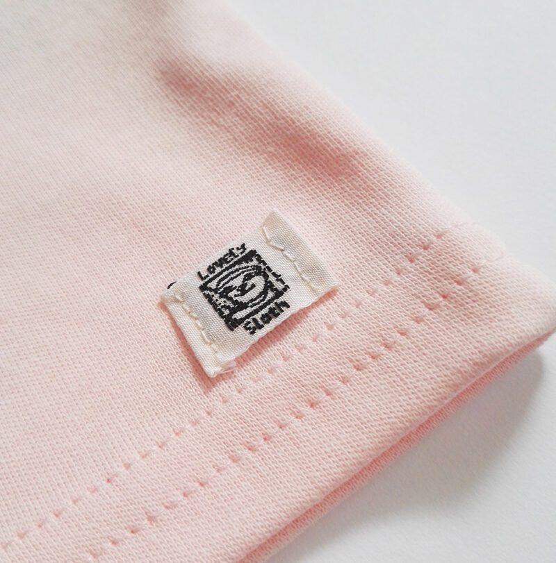 babykleidung Babyshirt Biobaumwolle Logo lovelysloth
