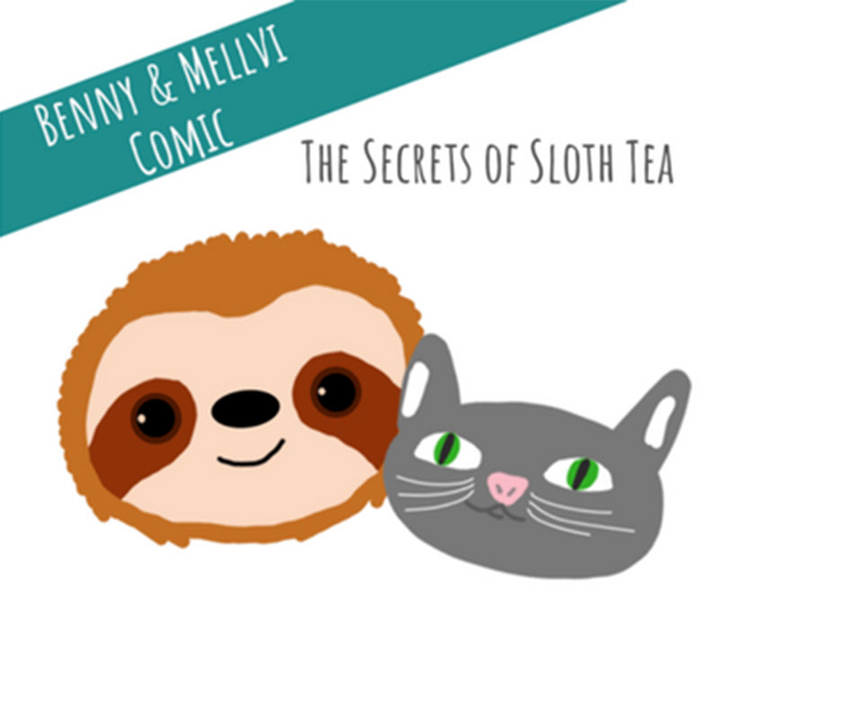 comic-benny-and-friends-sloth-tea-lovely-sloth