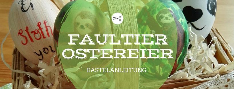 Faultier-Ostereier lovelysloth