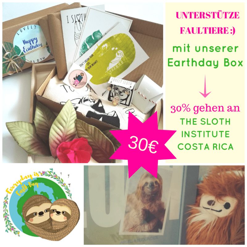 Earth Day Special lovely sloth