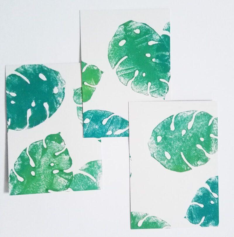 dschungel-postkarte-lovelysloth-varianten