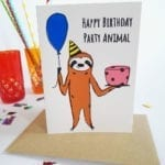 happy-birthday-party-animal-geburtstagskarte-lovelysloth