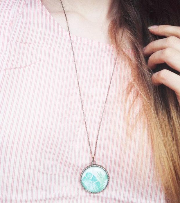 palmenblatt-kette-bronze-anwendung-lovelysloth