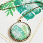 palmenblatt-kette-bronze-lovelysloth
