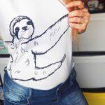 weisses-faultier-shirt-sibbel-nah-lovelysloth