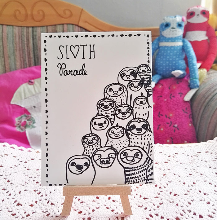 sloth-parade-faultier-postkarte-startbild-lovelysloth