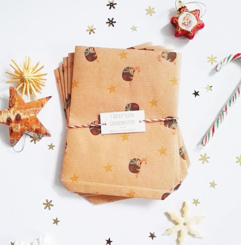 lovelysloth-geschenktueten-5er-pack