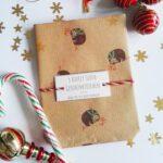lovelysloth weihnachtsgeschenktuetchen klein 6er pack