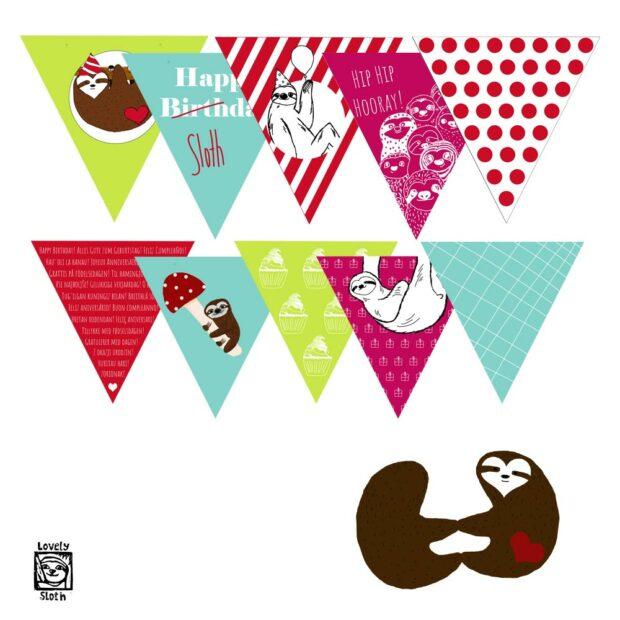 digitales-faultierpaket-slothparty-einzeln